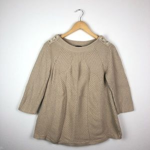 Ann Taylor Cable Knit Sweater Size M